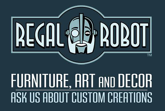 Regal Robot custom furniture and art