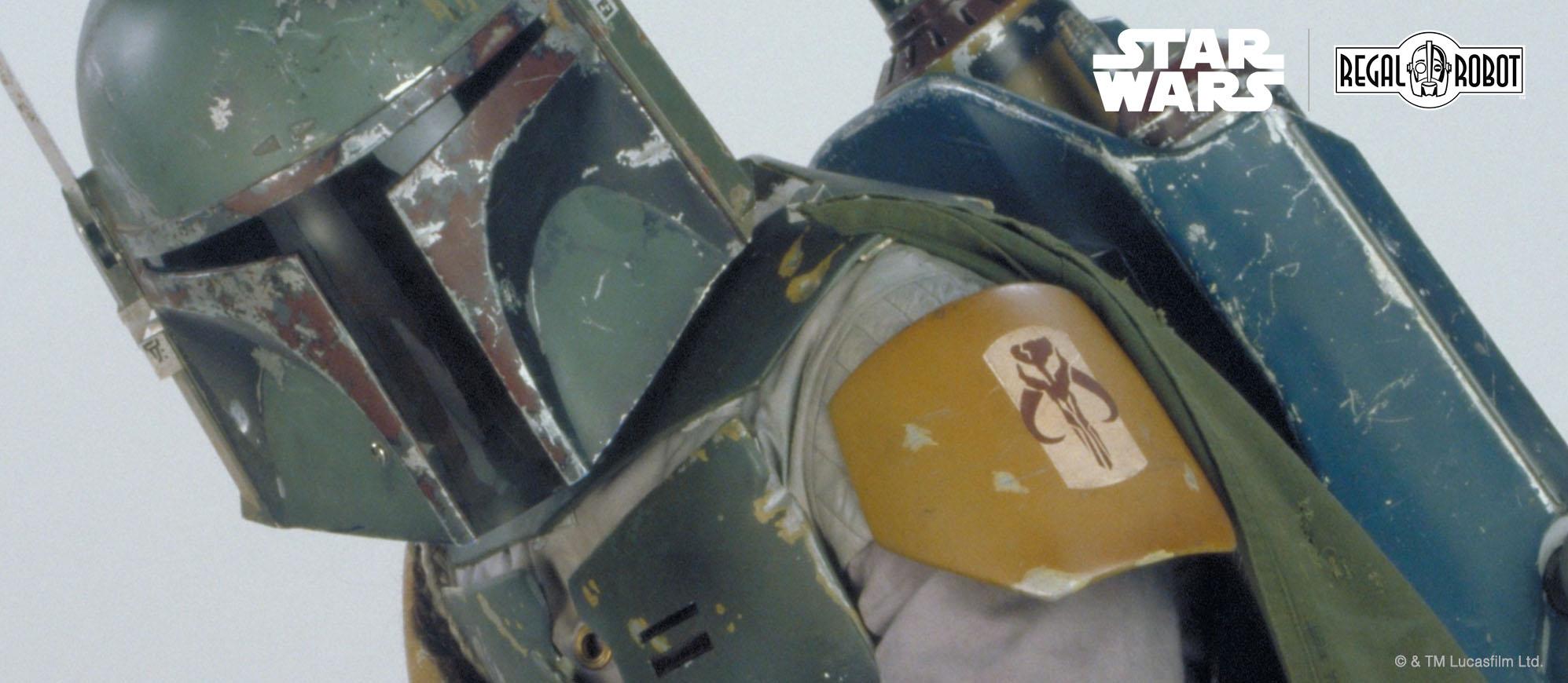 Boba Fett costume skull symbol