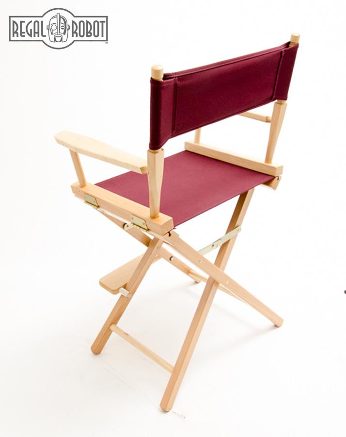 24 counter height directors chair regal robot. Black Bedroom Furniture Sets. Home Design Ideas