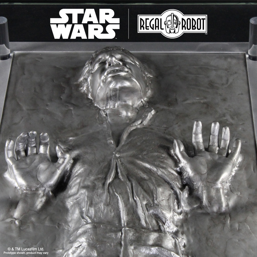 Han Solo™ Carbonite Coffee Table - Regal Robot