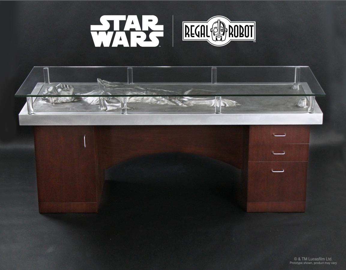 Han Solo Carbonite Desk Regal Robot