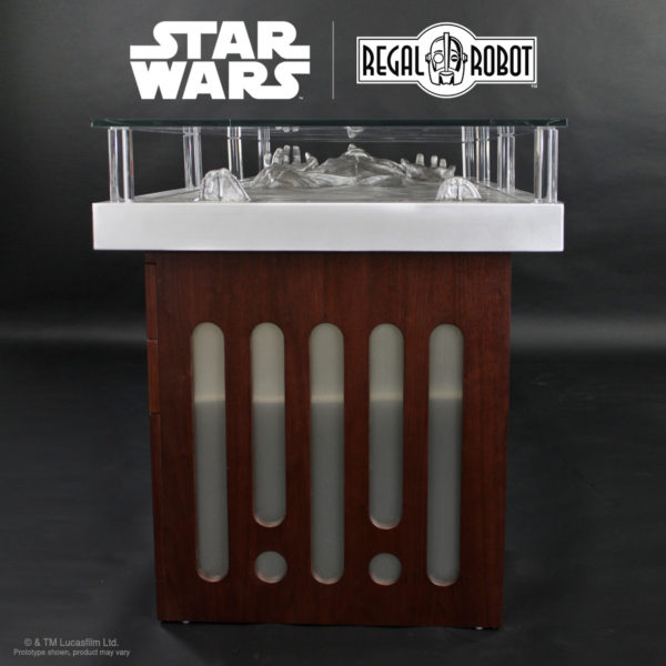 dot and dash Deathstar carbonite chamber