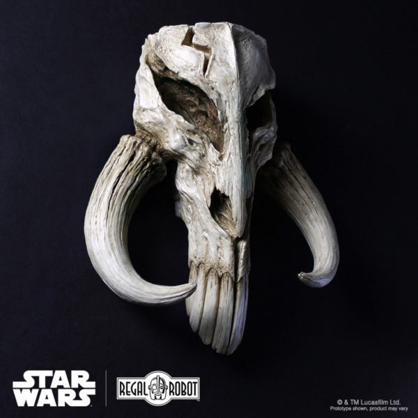 Mythosaur or Mandalorian skull wall decor