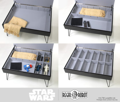 Star Wars storage table