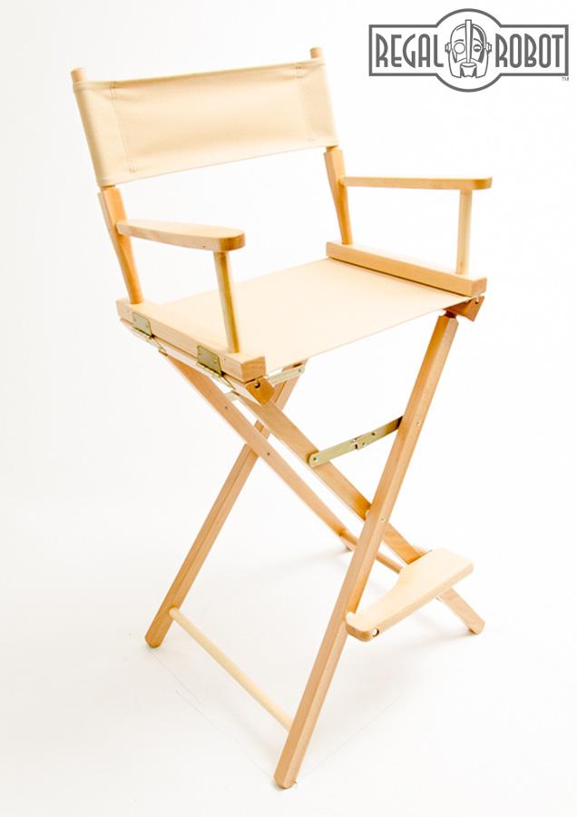30 bar height directors chair regal robot. Black Bedroom Furniture Sets. Home Design Ideas