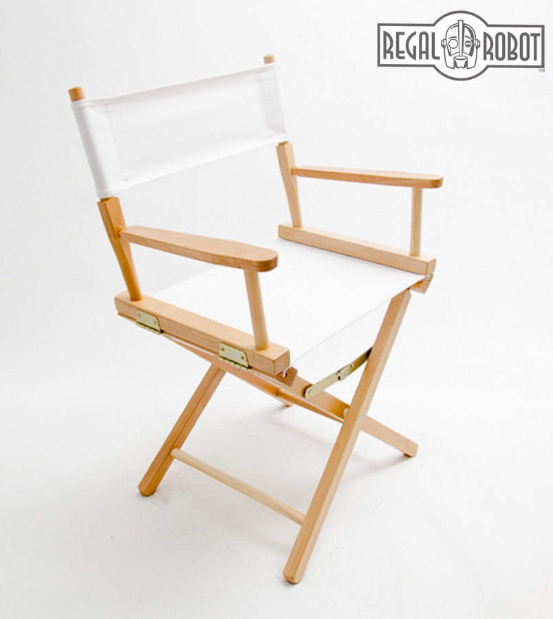 Contemporary Folding Directors Chair Made In The USA