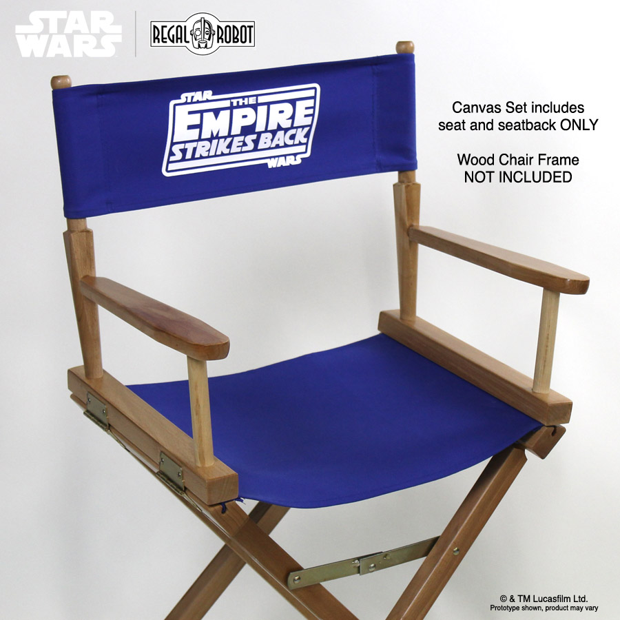 Star Wars Furniture And Home Decor. Directoru0027s Chair Canvas Replacement