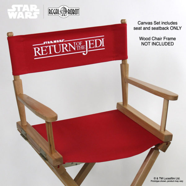 Star Wars chairs, Star Wars director chair made in the USA