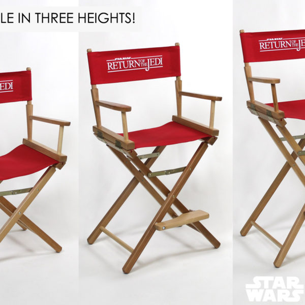 Return of the Jedi directors chairs