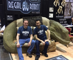 Star Wars custom themed furniture by Regal Robot