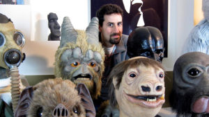 star wars alien masks for super bowl commercial