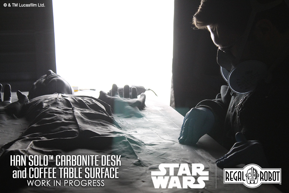Han Solo Carbonite Desk or Coffee Table