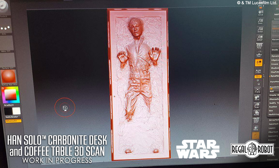 Han Solo Carbonite Coffee Table Images