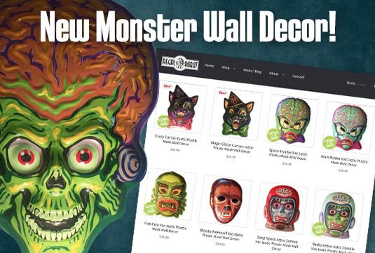Retroagogo vactastic plastic mask wall decor