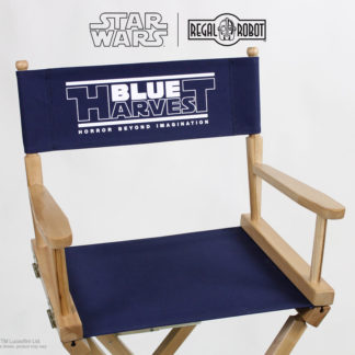 Blue Harvest movie director's chairs