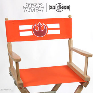 Star Wars Rebel logo director's chair