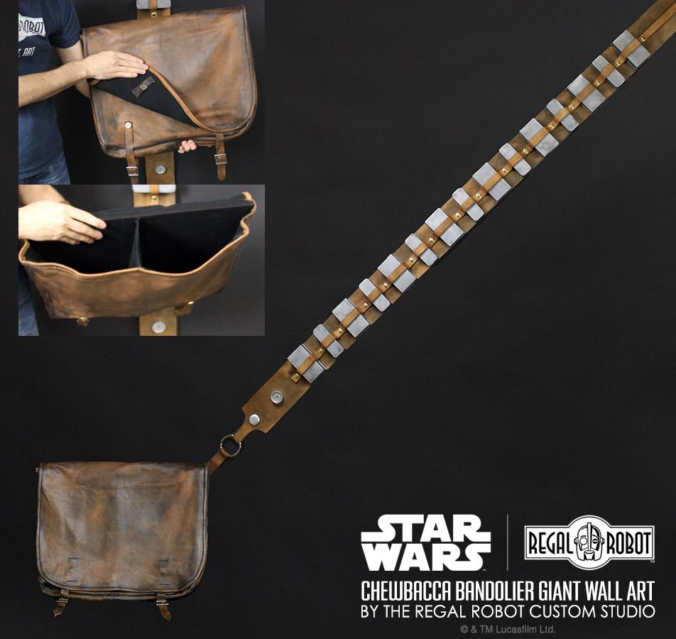 Chewbacca Bandolier Oversized Wall Art Regal Robot