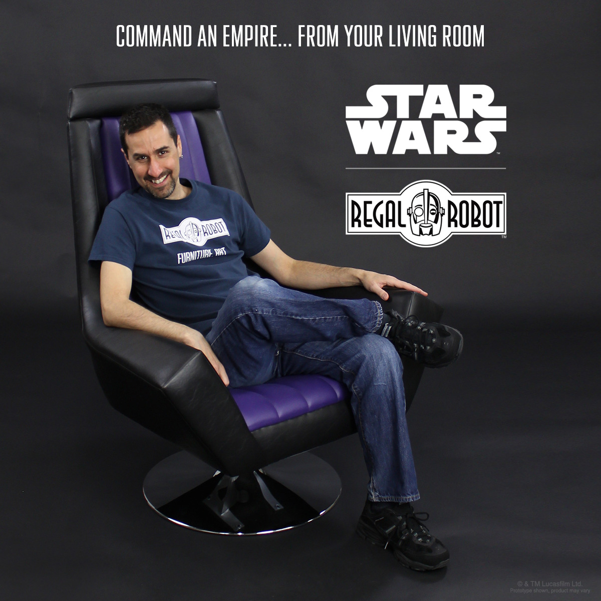 Imperial Star Wars furniture by Regal Robot