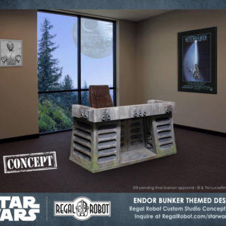 Return of the Jedi Endor Bunker Desk