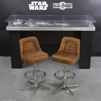 custom Han Solo Carbonite table and stools