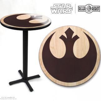 Star Wars Rebel symbol photo top pub table