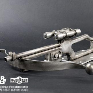 all metal bowcaster prop style door hardware