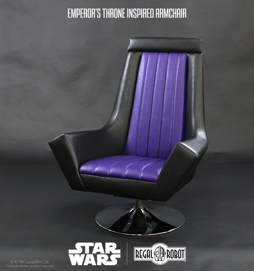 Star Wars: Return of the Jedi throne room chair