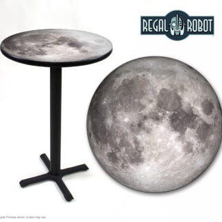 full moon photo printed top table
