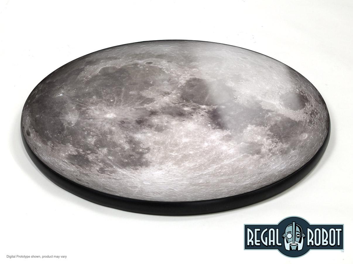 Full Moon Photo Top Cafe & Bar Table