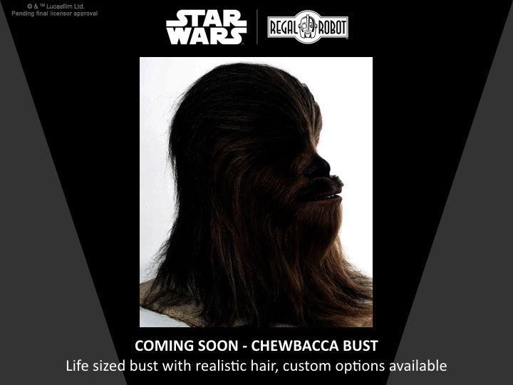 life sized Chewbacca from Star Wars