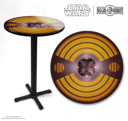 Star Wars carbonite cafe tables and furniture