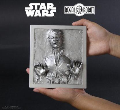 Han Solo™ Carbonite plaque for wall decor