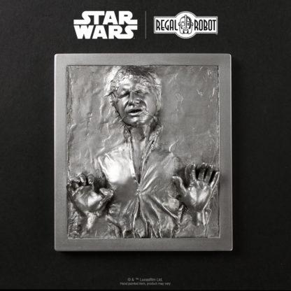 Han Solo Carbonite prop wall art