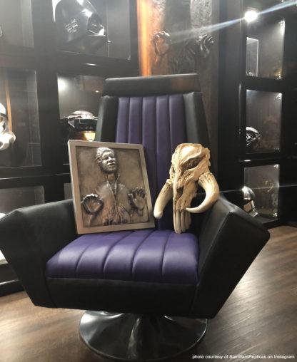 Mandalorian Skull, Han Solo Carbonite, Emperor Throne Chair