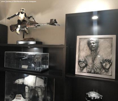 Star Wars replica props and models