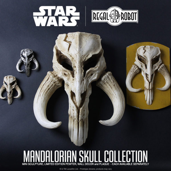 mythosaur skull sculptures and decor