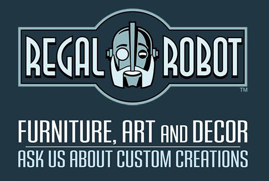 Regal Robot custom furniture and art