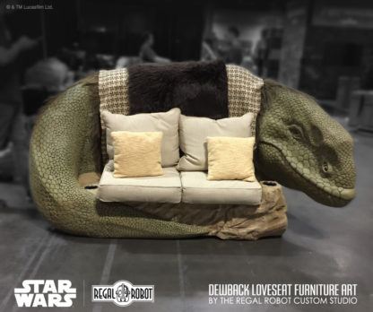 Custom Star Wars love seat