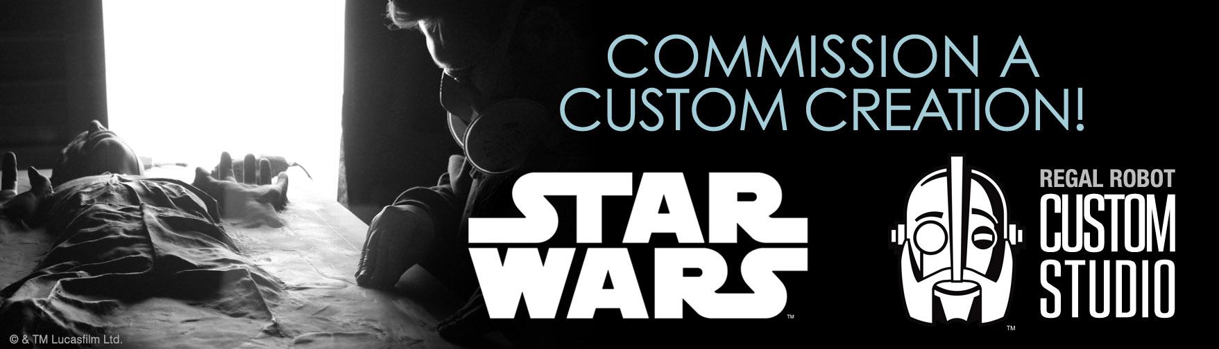 custom Star Wars art and decor