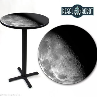 half moon photo table and top