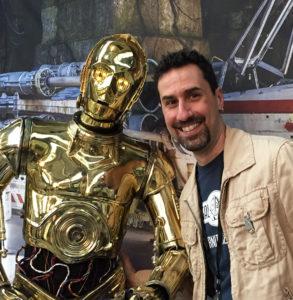 Gordon Tarpley C-3PO cosplay costume