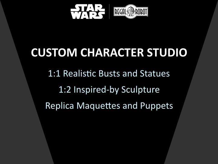 Regal Robot Star Wars sculpture and prop replicas