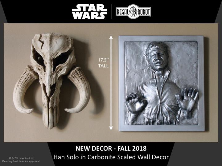 Han Solo in Carbonite wall art