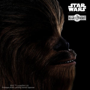 life sized chewbacca bust