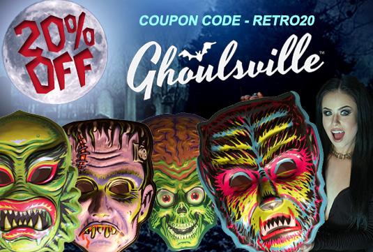 wall decor Halloween masks sale